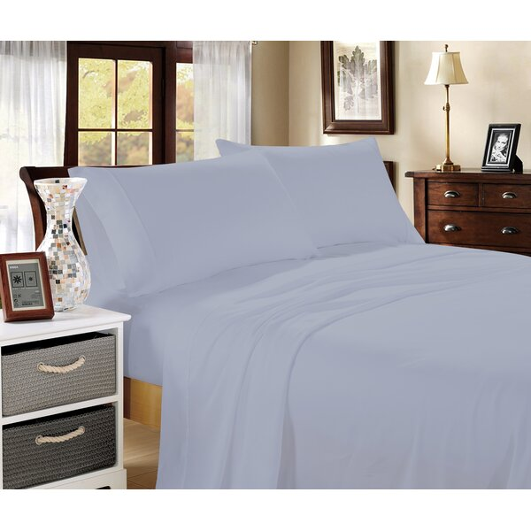 Aura 400 Thread Count 100% Cotton Sheet Set by Rockford International